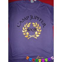 Camiseta Acampamento Jupiter Meio-sangue Spqr Lana Camiseta
