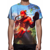 Camisa, Camiseta Game League Of Legends - Lee2
