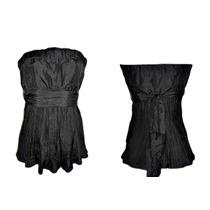 Blusa Tomara Que Caia Tafetá De Seda #moda #brecho