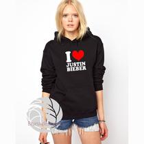 Blusa Justin Bieber I Love Ótima Qualidade!