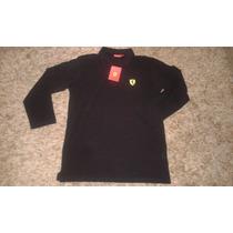 Camiseta Pólo Ferrari