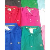 Camisa Camiseta Gola Polo Várias Marcas Atacado 05 Peças