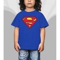 Camiseta Infantil Blusa Personagem Super Homem Chapolin Bob