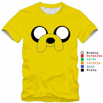 Camiseta Camisa Infatil Hora De Aventura Baby Look Feminina