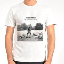 Camiseta George Harrison, Beatles, Rolling Stones