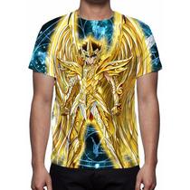 Camisa, Camiseta Cavaleiro Sargitário - Armadura Divina