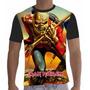 Camisa Camiseta Rock Iron Maiden 001