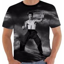 Camiseta Bruce Lee 6 - Dragao - Dragon - Artes Marciais Pb