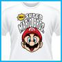 Camiseta New Super Mario Bros. Games, Nintendo, Personalizad