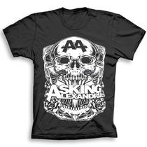 Camiseta Banda Asking Alexandria - C30 Original.
