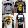 Kit 2 Camisa Camiseta Koral Venum Pretorian Jiu Jitsu Mma