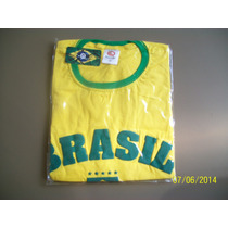 Camiseta Copa 2014 Brasil Feminina Masc. Unissex