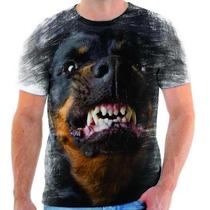 Camiseta De Hottweiler,cachorro,animal,estampada 2