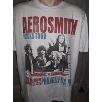 Camisa Do Aerosmith Tamanho Gg Apenas Aceito M Pago Grata...