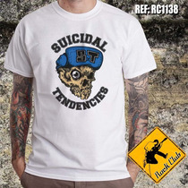 Camiseta De Banda - Suicidal Tendencies - Ref.1138 Rock Club