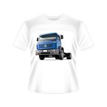 Camisetas Caminhão Vw - Tradicional Ou Baby Look