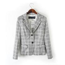 Blazer Fashion Vichy Tamnho M