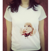 Babylook Camiseta Estampada Jpop Kyary