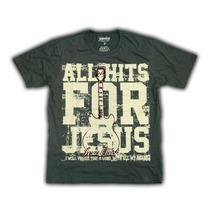 Camiseta Adulto-tam G-p-cor Cinza- C168
