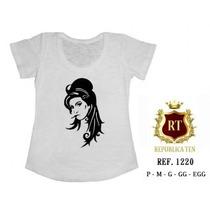 Camisetas Any House Cantora T-shirts Blusas Femininas