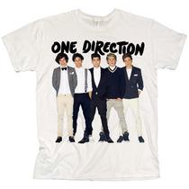 Camiseta One Direction - Camisas De Bandas 1d