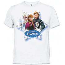 Camiseta Frozen O Reino De Gelo - Walt Disney