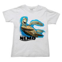 Camiseta Procurando Nemo Procurando Dory Dori Infantil 006
