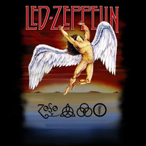 Baby Look Led Zeppelin - Swan Song!!! Camiseta De Banda!!!