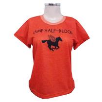 Camiseta Acampamento Meio Sangue - Personalizada