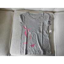 Camiseta Infantil Menina Manga Curta Original Gap Importada