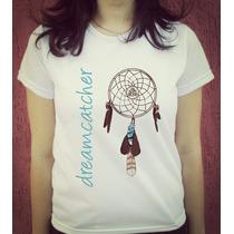 Babylook Camiseta Estampada Filtro Dos Sonhos Dreamcatcher