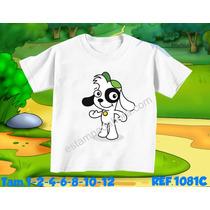 Camiseta Doky Discovery Kids Estampada Hora Chaves Cachorro