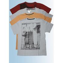 Lote Camiseta Sulfabril Estampada 5 Peças