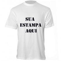 Camiseta Personalizada Com Sua Foto Ou Frase - Camisas