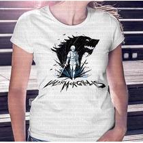 Camisa Estampa Feminina Game Of Thrones Valar Morghulis