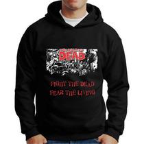 Moletons Twd The Walking Dead Blusa De Frio Com Capuz Bolso