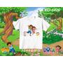 Camiseta Infantil Dora Aventureira- Diego Go/ Personalizada