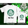 Kit Camiseta Palmeiras Tal Pai Tal Filho Times Corinthians