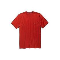 Camiseta Básica Masculina Tommy Hilfiger Vermelho