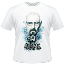 Camiseta Say My Name Breaking Bad Heisenberg Camisa