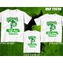 Camsietas Palmeiras Verdão Mancha Verde Hulk Kit Com 3