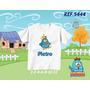 Camiseta Galinha Pintadinha Infantil Aniversário Com Nome