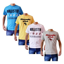 Camisetas Abercrombie & Fitch E Hollister