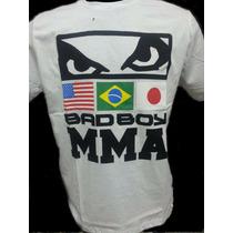 Camisa / Camiseta Mma Bad Boy Mauricio Shogun+frete Gratis
