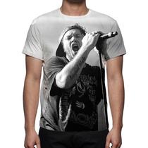 Camisa, Camiseta Charlie Brown Jr Chorão - Estampa Total