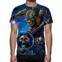 Camisa, Camiseta Iron Maiden - Estampa Total