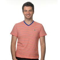 2110 - Camiseta Lacoste Manga Curta Slim Fit - Algodão 100%