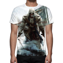 Camisa, Camiseta Game Assassin´s Creed - Estampa Total