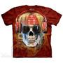 Camiseta Rocker Skull/cranio Roqueiro - The Mountain