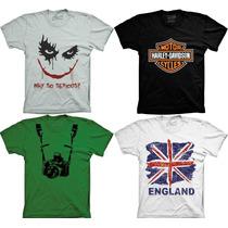 Camiseta Divertidas Engraçadas Personalizadas Playboy Harley